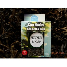 Sea Salt & Kelp 125g  (Sprinkle Jar)